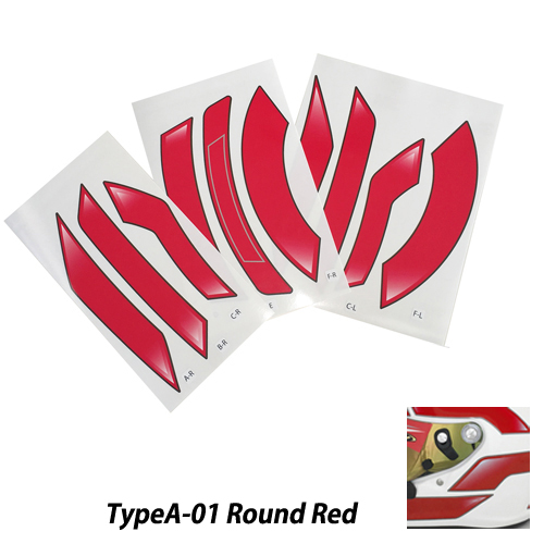 bcd3eb9f Monocolle original sticker type a red for stilo helmet click image jpg  500x500 St5 original